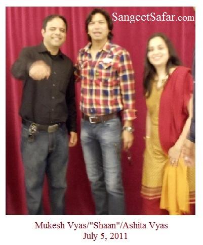 "Mukesh Vyas/""Shaan""/Ashita Vyas"