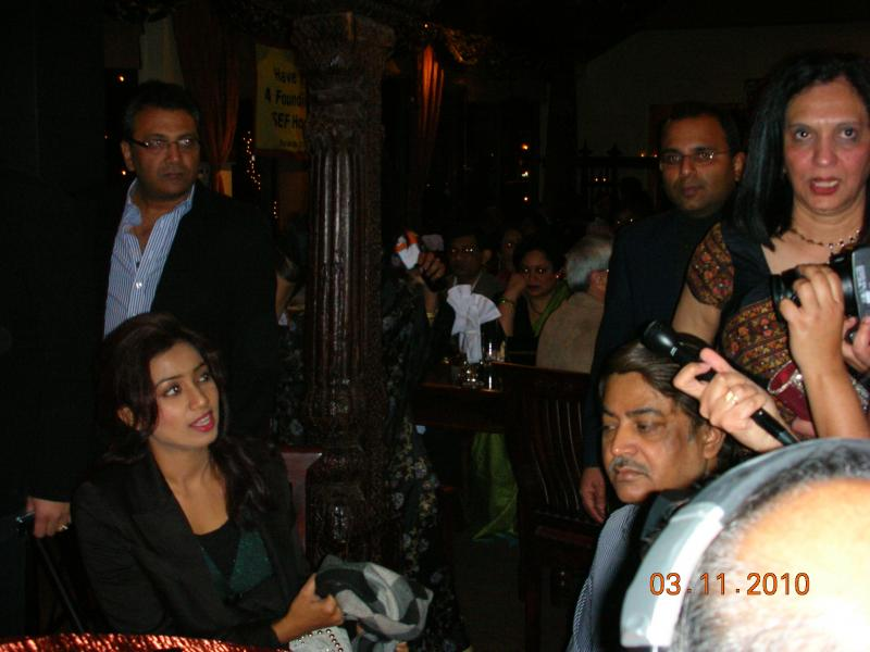 Shreya Ghoshal and Dad